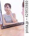 鏡 肌 スキンケアの写真 42953980