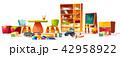 おもちゃ 玩具 遊び道具のイラスト 42958922