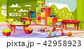 幼稚園 空間 部屋のイラスト 42958923