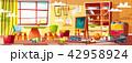 空間 部屋 おもちゃのイラスト 42958924