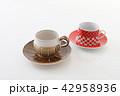 カップ コーヒーカップ ソーサーの写真 42958936