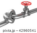 Industrial Pipeline with a Knot 42960541