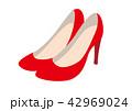 赤いハイヒール 42969024