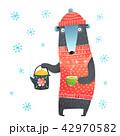 くま クマ 熊のイラスト 42970582