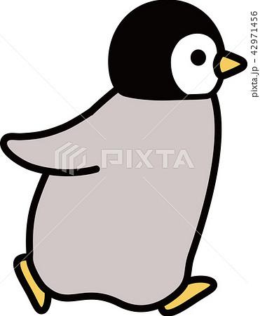 皇帝ペンギンのこども 歩くのイラスト素材 42971456 Pixta