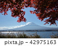 富士山 富士 秋の写真 42975163
