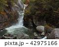 昇仙峡 秋 紅葉の写真 42975166