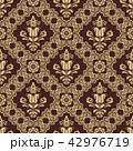 褐色 クラシック 古典のイラスト 42976719