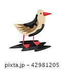 鳥 あぶら オイルのイラスト 42981205