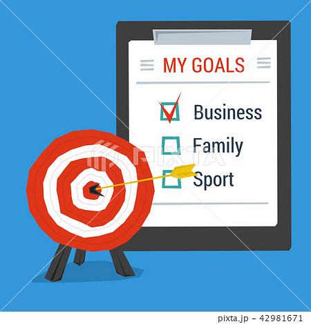 Business concept personal goals 42981671