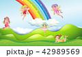 妖精 空想 メルヘンのイラスト 42989569