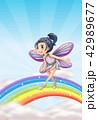 妖精 空想 少女のイラスト 42989677