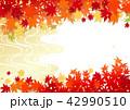 秋 紅葉 ベクターのイラスト 42990510