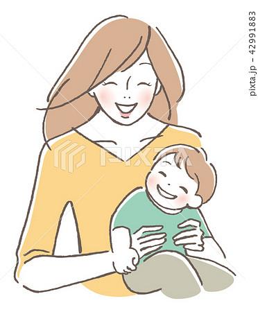子供と母親 42991883