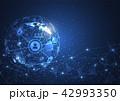 テクノロジー 抽象 ネットワークのイラスト 42993350