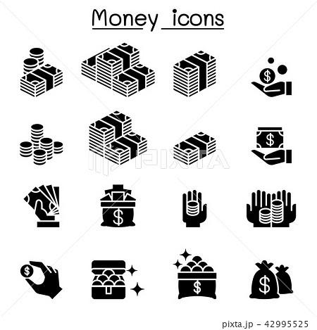 Money & Investment icon set 42995525