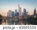 フランクフルト ドイツ スカイラインの写真 43005330