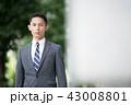 サラリーマン ビジネスマン 男性の写真 43008801