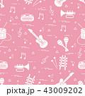 音楽 音 音声のイラスト 43009202