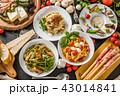 イタリアンパスタ Fettuccine pasta Italian cuisine 43014841