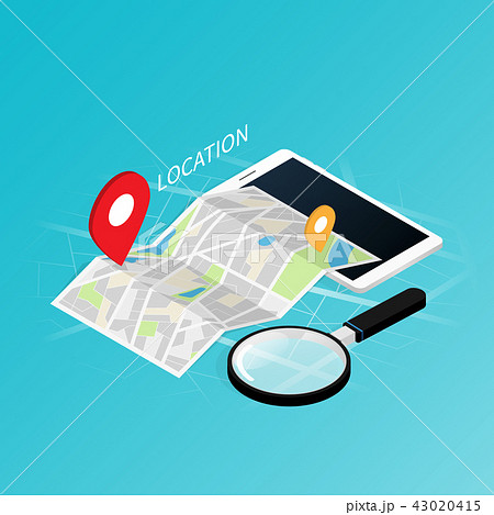 Maps & Navigation location,mobile application  43020415