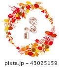 紅葉 秋 落ち葉のイラスト 43025159