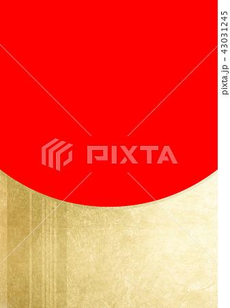 ライン 箔 金赤(背景素材) 43031245