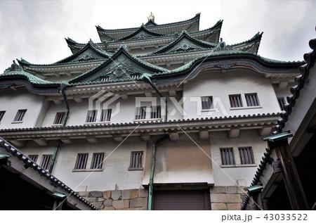 美しい日本文化と日本の城、愛知県の名古屋城 43033522