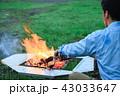 テント 火 炎の写真 43033647