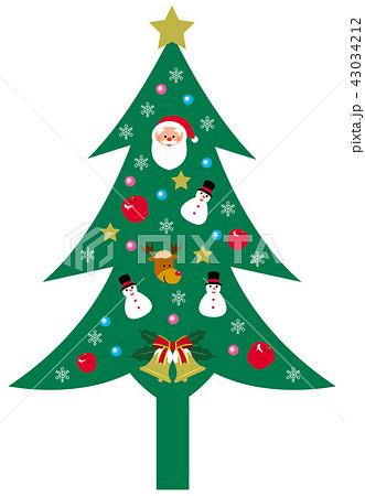 クリスマス ツリー 43034212