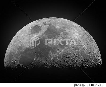上弦の月 43034718