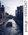 大阪 夕暮れ 道頓堀の写真 43035267