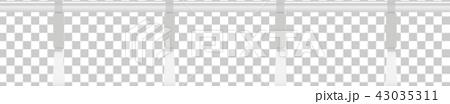 電車のつり革 43035311