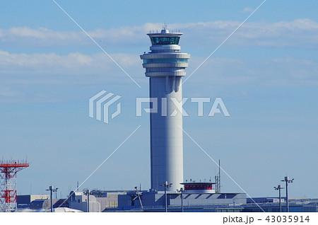 羽田空港の管制塔 43035914
