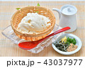 夏の寄せ豆腐、寄せとうふ、ざる豆腐、冷奴(冷やっこ)お豆腐、冷たいとうふ、イメージ。 43037977