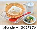 夏の寄せ豆腐、寄せとうふ、ざる豆腐、冷奴(冷やっこ)お豆腐、冷たいとうふ、イメージ。 43037979