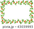 蔓草フレーム赤 43039993