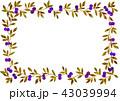 蔓草フレーム紫 43039994
