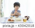 男の子 食事 子供の写真 43042018