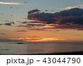 空 雲 夕焼けの写真 43044790