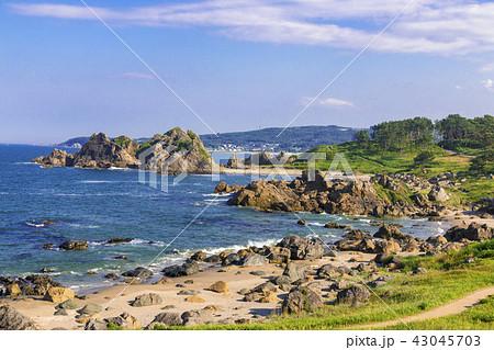 種差海岸 中須賀(青森県八戸市) 43045703