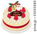クリスマスケーキ 43050989