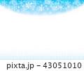 雪の結晶 冬 雪のイラスト 43051010