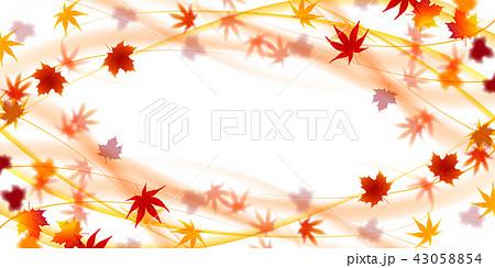 紅葉 もみじ 秋 背景  43058854