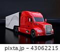 トラック セミトラック トレーラーのイラスト 43062215