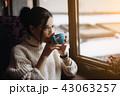 コーヒー 女の子 女児の写真 43063257