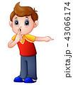 男の子 子 子供のイラスト 43066174