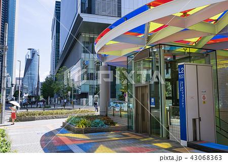 名古屋市中村区都市風景 ルーセントアベニュー入口 L2 中央郵便局北交差点 43068363