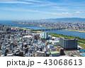 大阪市 都市 都市風景の写真 43068613