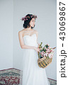 花嫁 ブライダル ウエディングの写真 43069867